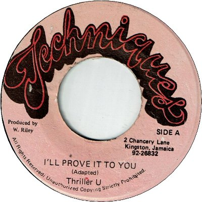 I'LL PROVE IT YOU (VG+)