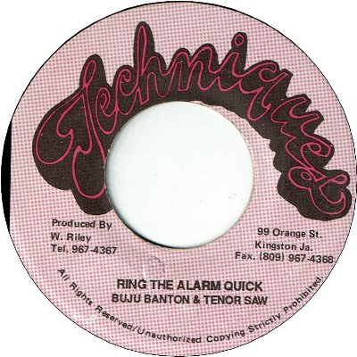 RING THE ALARM QUICK (VG) / STALAG 17 (VG)