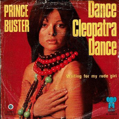 DANCE CLEOPTRA DANCE (VG+) / WAITING FOR MY RUDE GIRL (VG+)