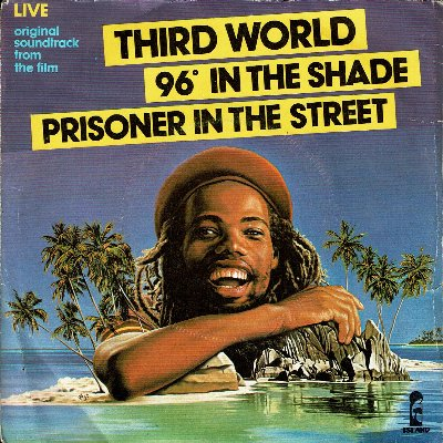 96 IN THE SHADE Live (VG+) / PRISONER IN THE STREET Live (VG+)