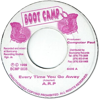 EVERY TIME YOU GO AWAY (VG+)