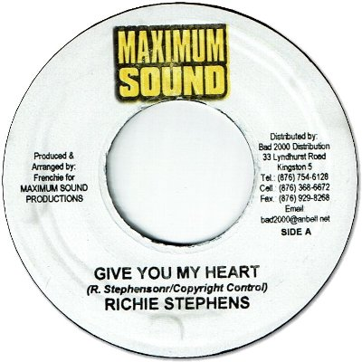 GIVE YOU MY HEART (VG+) / VERSION (VG+)