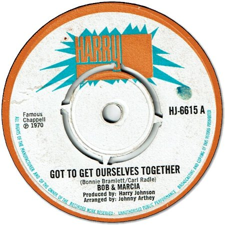 GOT TO GET OURSELVES TOGETHER (VG)  / FESTIVAL SPIRIT (VG+)
