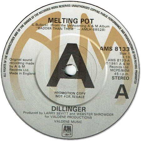 MELTING POT (VG+) / HEARSAY (VG+)