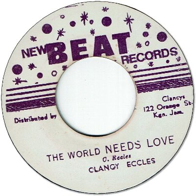 THE WORLD NEEDS LOVE (VG+) / I DID IT (VG)