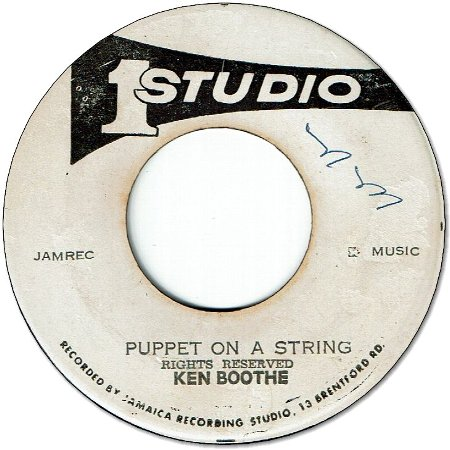 PUPPET ON A STRING (VG) / WILLOW WEEP (G+)