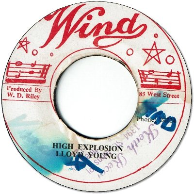 HIGH EXPLOSION (VG+/WOL) / Version (VG/WOL)
