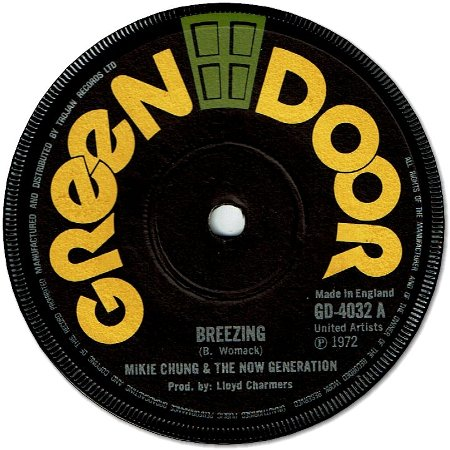 BREEZING (VG+) / VERSION (VG)