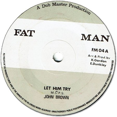 LET HIM TRY (VG+) / VERSION