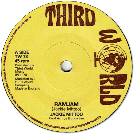 RAMJAM (VG to VG+) / VERSION (VG+)