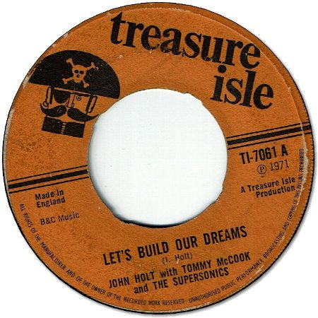 LET'S BUILD OUR DREAMS (VG- to VG) / TESTIFY Version (G+)