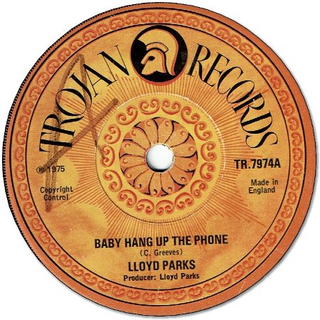 BABY HANG UP THE PHONE (VG to VG+/WOL) / I BE YOUR MAN (VG+)