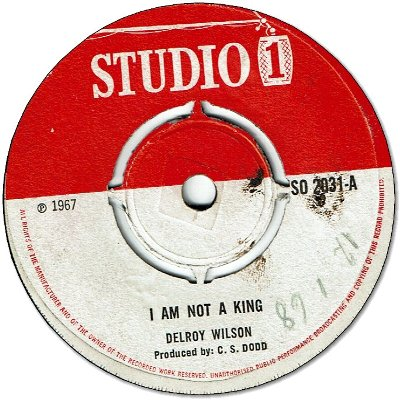 I AM NOT A KING (VG) / TAKE ME (VG)
