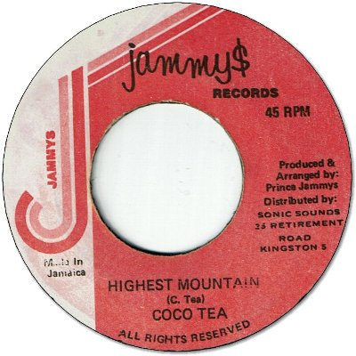 HIGHEST MOUNTAIN (VG to VG+) / VERSION (G)
