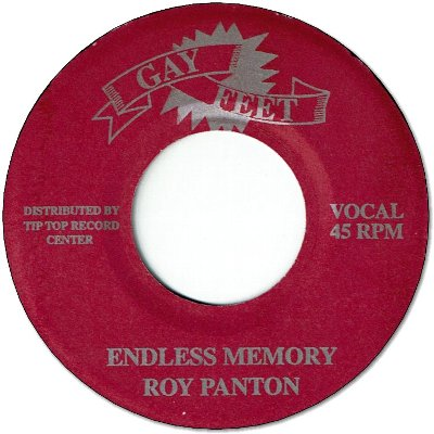 ENDLESS MEMORY (VG+) / EASTERN ORGAN (VG+)