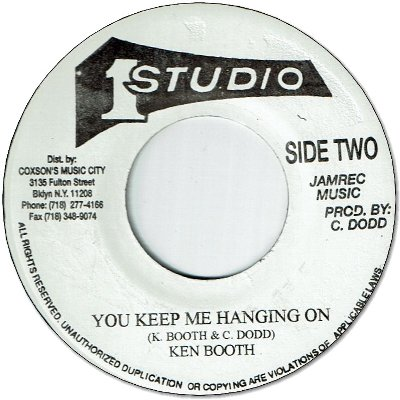 YOU KEEP ME HANGING ON (VG+) / THINGS AIN'T GOING RIGHT (VG-)