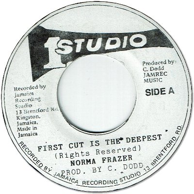 FIRST CUT IS THE DEEPEST(VG) / VERSION (VG)