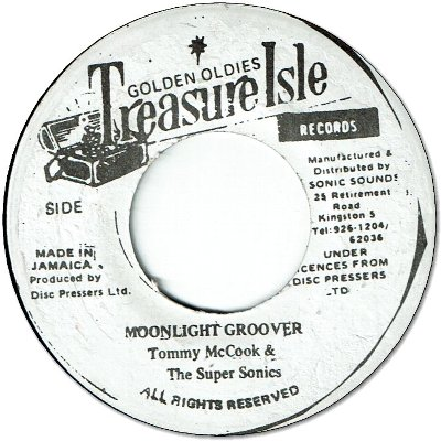 MOONLIGHT GROOVER (VG) / WHAT A MAN DO (VG+)