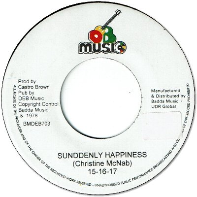 SUDDENLY HAPPINESS (VG+) / OOH OOH (VG+)