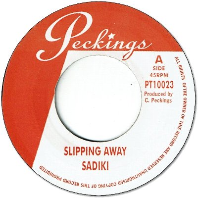 SLIPPING AWAY (VG+)  / WHAT IF (VG+)