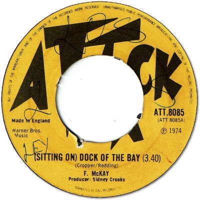 (Sitting On)DOCK OF THE BAY (VG+) / ARISE SELASSIE I ARISE