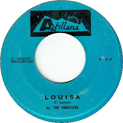 LOUISA (VG+) / DOWN WHERE THE WEST INDIAN CROWS (VG+)
