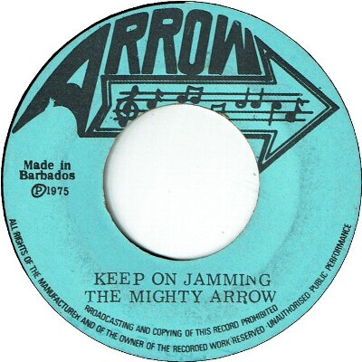 KEEP ON JAMMING (VG+) / MONIQUE