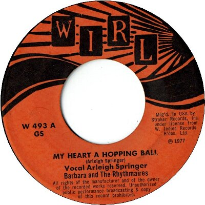 MY HEART A HOPPING BALL (VG+) / SO GLAD YOUR MINE (VG)