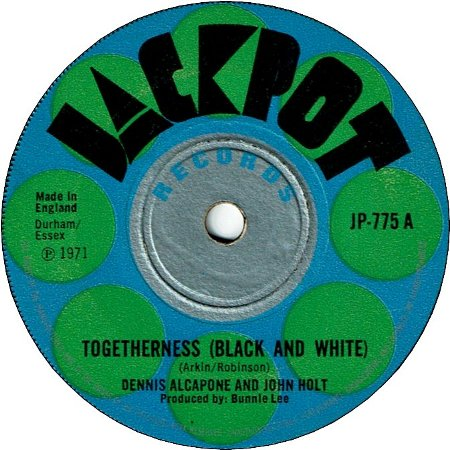 TOGETHERNESS(Black And White) (VG) / LIVE GOOD (VG)