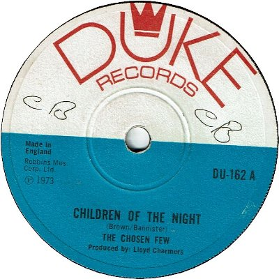 CHILDREN OF THE NIGHT(VG+/WOL) / FOR THE GOOD TIMES (VG+/WOL)