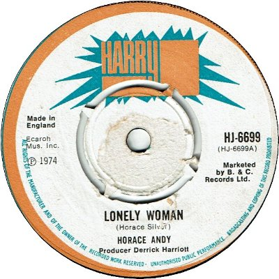 LONELY WOMAN (VG+)
