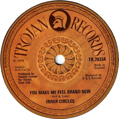 YOU MAKE ME FEEL BRAND NEW (VG+) / T.S.O.P (VG+)