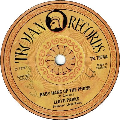 BABY HANG UP THE PHONE (VG) / I BE YOUR MAN (VG)