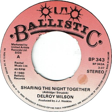 SHARING THE NIGHT TOGETHER (VG+) / TENSION (VG+)