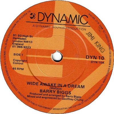WIDE AWAKE IN A DREAM (VG+) / DIDN'T I(Baby) (VG+)