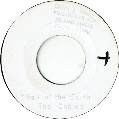 SALT OF THE EARTH (VG+) / YOUR NAME RING A BELL (VG+)