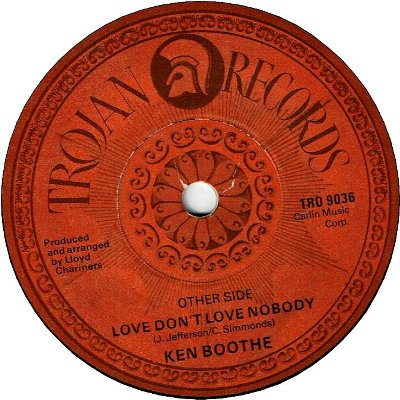 FREEDOM DAY (VG+) / LOVE DON'T LOVE NOBODY (VG+)