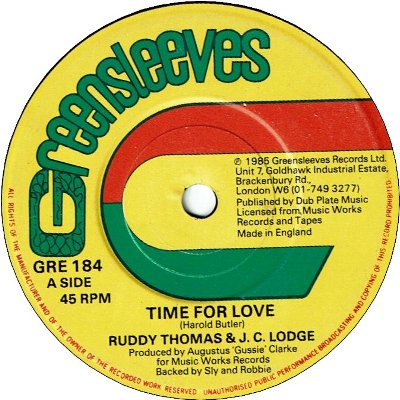 TIME FOR LOVE (EX) / IN THE SUMMER TIME (EX)