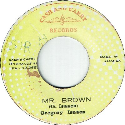 MR.BROWN (VG/SWOL) / VERSION (VG/WOL)