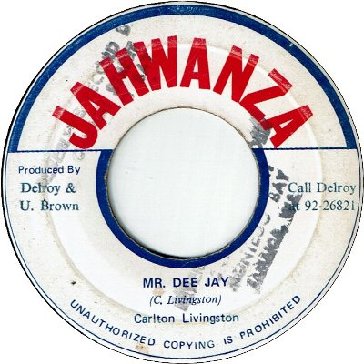MR.DEE JAY (VG/Stamp) / Pt.2 (VG+)