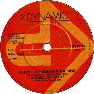 WHEN LOVE COMES KNOCKING (VG+) / LOVE COME KNOCKING (VG+)