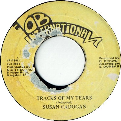 TRACKS OF MY TEARS (VG- to VG)