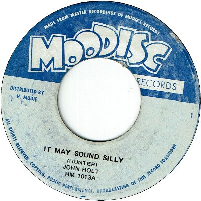 IT MAY SOUND SILLY (VG+) / VERSION (VG)