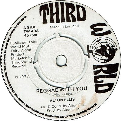 REGGAE WITH YOU (VG) / VERSION (VG)