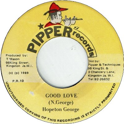 GOOD LOVE (VG+) / VERSION (VG)
