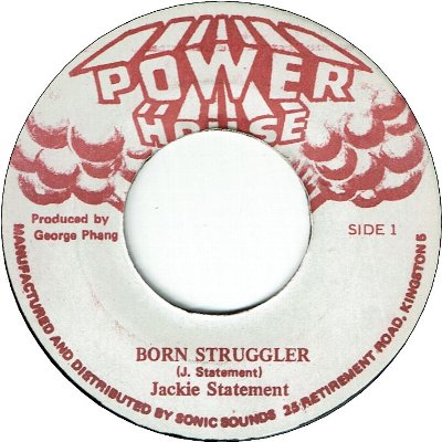 BORN STRUGGLER (VG+) / VERSION (VG+)