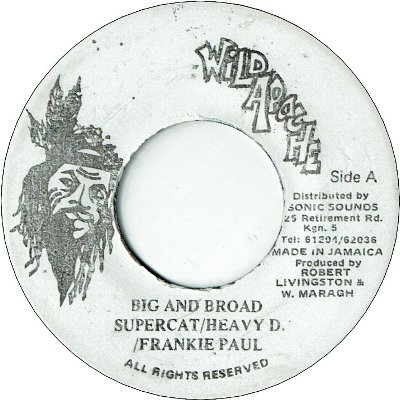 BIG AND BROAD (VG+) / REMIX (VG+)