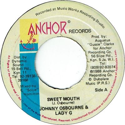 SWEET MOUTH (VG+)