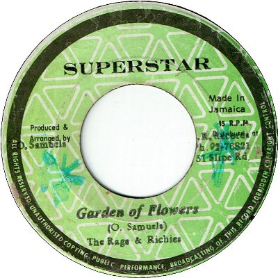 GARDEN OF FLOWERS (VG+) / VERSION (VG-)
