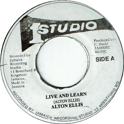 LIVE AND LEARN (VG) / VERSION (VG)